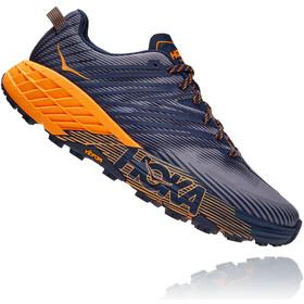 Hoka One One Speedgoat 4 Schoenen Heren, blauw/grijs